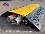 电缆保护垫热销 五孔电缆保护垫 橡胶电缆保护垫