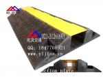 橡胶铺线槽 橡胶线槽板屹岚租赁 电缆橡胶线槽板孔径