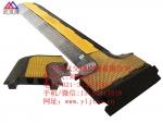 2孔电缆穿线板 演出电缆穿线板 橡胶电缆保护板