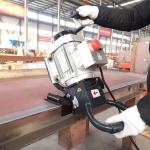 廣西供應手提式小型銑邊機坡口角度30°-60°可調