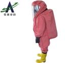 全封闭重型防化服 内置氯丁胶防化服 连体防化服 重型防化服