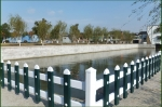 湖北襄阳PVC塑钢护栏_宜城PVC草坪护栏_花坛护栏围栏