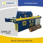 全自动化木材刨花机生产线现场