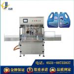 济南全自动玻璃水灌装机  防冻液灌装机厂家