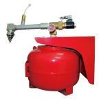 成都滅火裝置銷售公司 四川懸掛式七氟丙烷滅火裝置價格