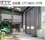 杭州大型抗风快速卷帘门,餐厨垃圾回收站快速提升门