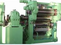 橡胶三辊压延机  合金冷硬铸铁辊筒压延机