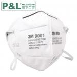 3M 9001(耳戴式)/9002(头戴式) 折叠式防尘口罩