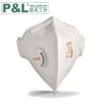 优唯斯UVEX 8733210 带呼吸阀折叠式口罩 优唯斯3