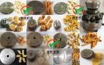 小米煎餅生產線,小米鍋巴生產線,小米鍋巴膨化機