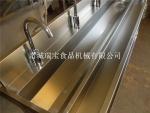 304不锈钢洗手槽 单人洗手槽 感应洗手槽