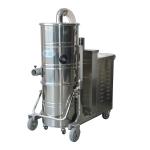依晨380V大功率吸塵器 工業大型工廠車間粉塵桶式干濕兩用吸