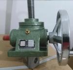 手動升降機 蝸輪蝸桿傳動帶自鎖功能的升降裝置