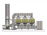 吉林汽车制造厂喷漆废气净化安装催化燃烧设备