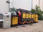 锦州工业有机废气净化 催化燃烧设备工艺流程