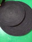 黑色包辊绒布