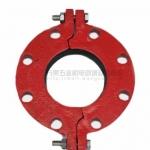 山西龙成玛钢供应 消防管件批发 沟槽分体法兰 厂家直销