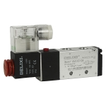 鞍山德力西電磁閥4V210-08二位五通電磁閥價格