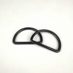 无缝D扣金属 合金D字扣 锌合金压铸D环 半圆环内径50mm