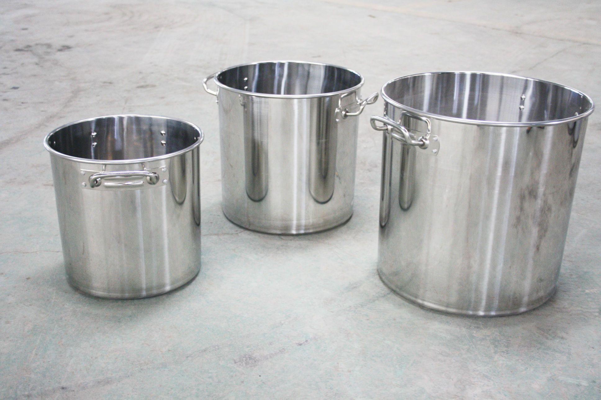 万嘉不锈钢汤桶采用国际标准不锈钢