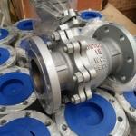 化工部标准法兰碳钢球阀