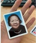磁砖相片 烤磁照片 烤磁遗像 制作磁相片 定做磁相片