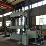 500吨四柱PE塑料模压液压机 厂家直销