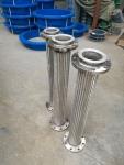 304不銹鋼波紋管 蒸汽管 4分6分1寸 高溫高壓編織網金屬