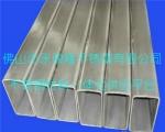 建阳优质供应不锈钢抛光面矩焊管-延伸性能好-佛山管厂供应