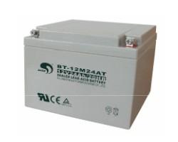淄博代理赛特蓄电池/BT-12M24AT立式蓄电池报价