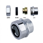 内螺纹金属软管接头 内螺纹软管接头JSF-DPN-15MM