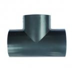 UPVC化工三通 PVC承插三通 塑料三通 等徑三通 工業管