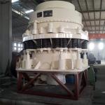 抗壓耐磨圓錐式破碎機車載石料破碎機械設備液壓圓錐式破碎機