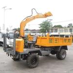 东硕机械生产随车挖掘机SY825-20车载式挖掘机