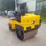 新疆烏魯木齊座駕式小型壓路機2噸手扶單輪雙輪壓實機械