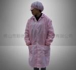 條紋防靜電衣 網格衣服大褂 防靜電工作服 無塵車間工衣 除電