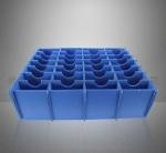 防靜電周轉箱 防靜電中空板 蜂巢板萬通板 周轉箱刀卡