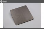 彩色不锈钢黑钛拉丝板直销 不锈钢拉丝板加工 不锈钢装饰报价