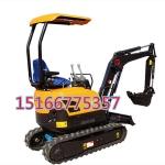 橡胶履带式小挖机16配置高端的小挖机价格表