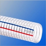 鞍山供应时代牌 PVC钢丝螺旋增强软管 透明钢丝管