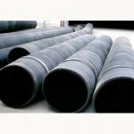 鞍山橡胶钢丝埋吸管 吸引管 橡胶吸排管 吸水排水管